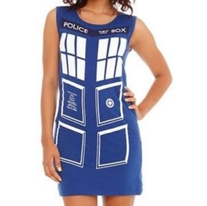 Doctor Who Tardis Bodycon dress